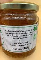 Miel d'Oranger BIO - Ingredients - fr