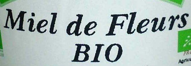 Miel de Fleurs Bio - Ingrédients - fr