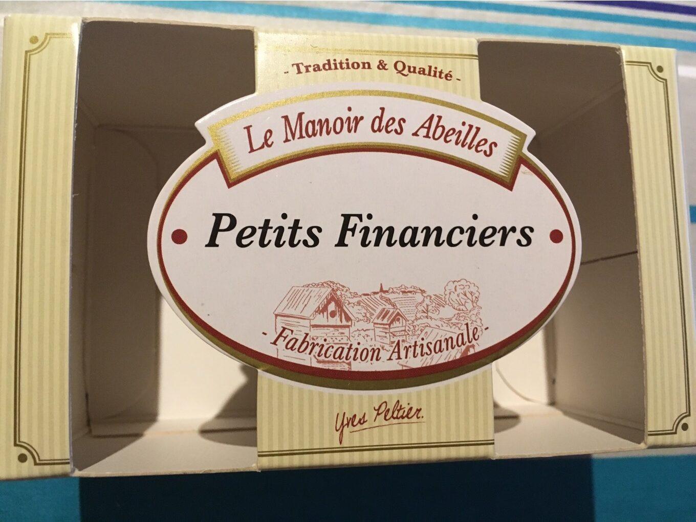 200G Petits Financiers Le Manoir - Produit - fr