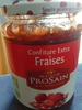Confiture extra fraises - Product