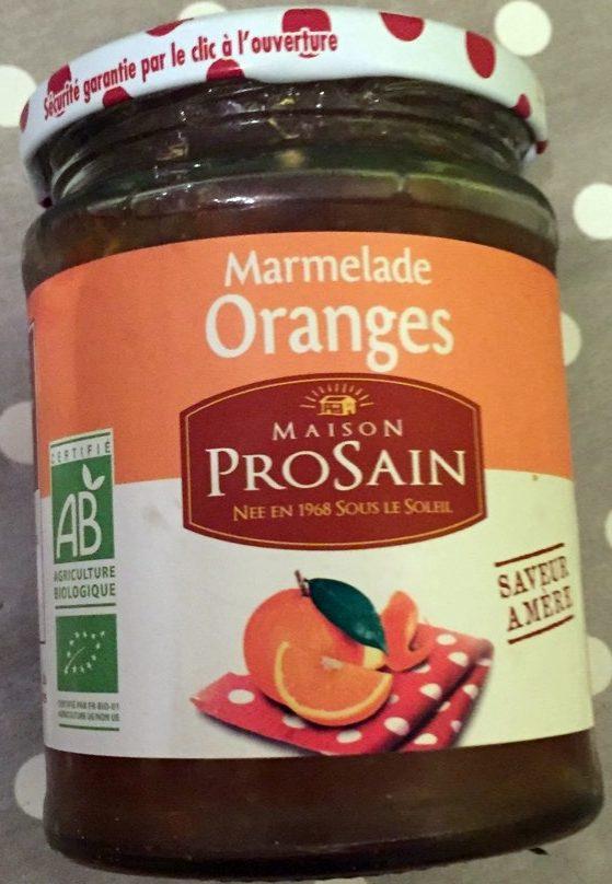 Marmelade Oranges Saveur amère - Product