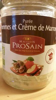 Pommes et crème de marrons - Product - fr