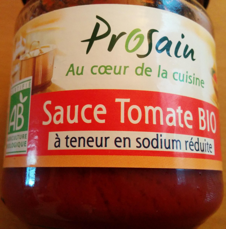 Sauce tomate provencale sans sel ajouté - Produit - fr