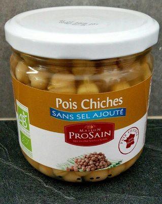 Pois chiches sans sel ajouté - Produit - fr