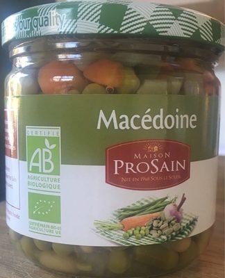 Macédoine - Produit