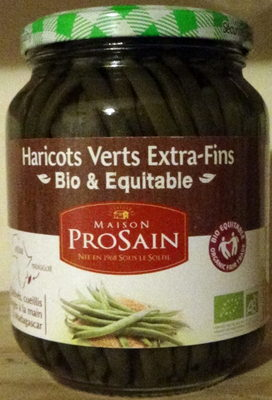 Haricots Verts Extra-Fins Bio & Equitable - Product