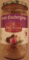 Riste d'aubergines cuisinée aux oignons et poivrons - Produit - fr