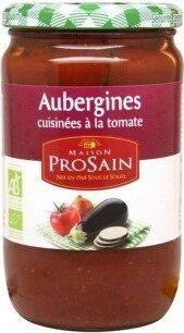 Aubergines Cuisinees a La Tomate - Produit - fr