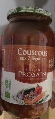 Couscous aux 7 légumes - Prodotto - fr