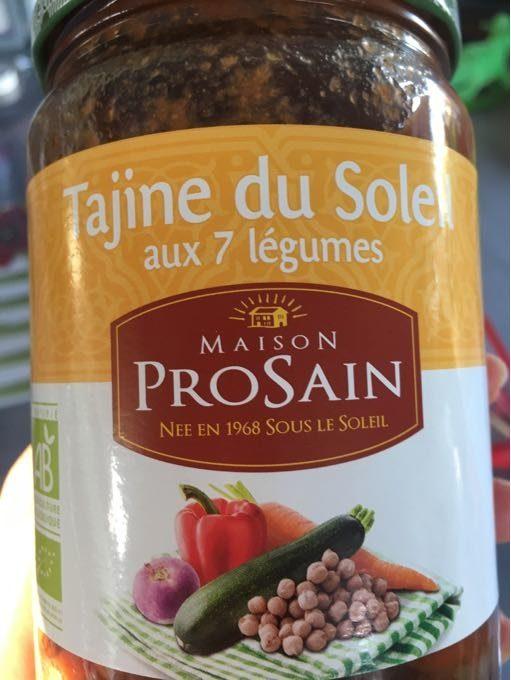 Tajine du soleil aux 7 légumes - Produit - fr