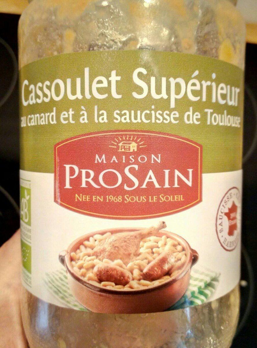 Cassoulet Supérieur Bio - Produit - fr