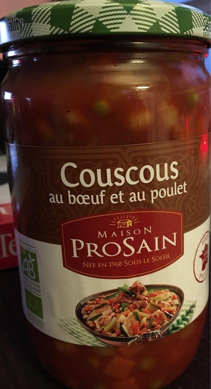 Couscous au bœuf et au poulet - Produit