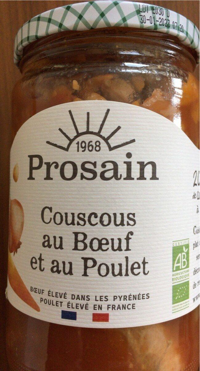 Couscous Au Boeuf Et Au Poulet - Product - fr