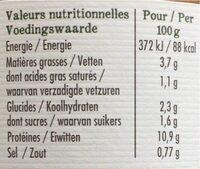 Couscous Au Boeuf Et Au Poulet - Voedingswaarden - fr