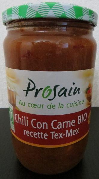 Chili Con Carne BIO  recette Tex-Mex - Product