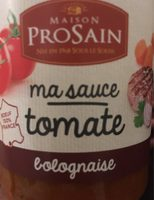 Sauce Bolognaise Bœuf des Pyrenées - Product - fr