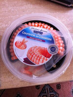 Couronne de crevettes + sauce cocktail - Product - fr