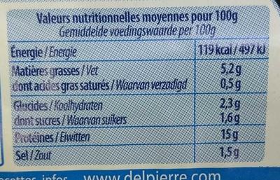 Couronne de Crevettes + Sauce Cocktail - Nutrition facts - fr