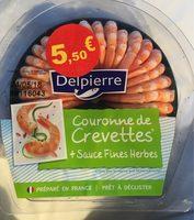 Couronne de crevettes sauce fine herbes - Product