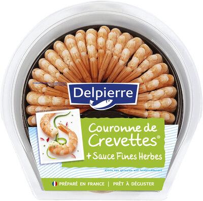 Couronne de crevettes sauce Fine Herbes - Product - fr