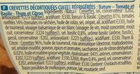 Apéro L'Apéri Crevett' - Ingrediënten - fr