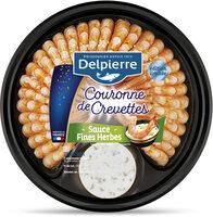Couronne de crevettes sauce Fines Herbes - Product - fr