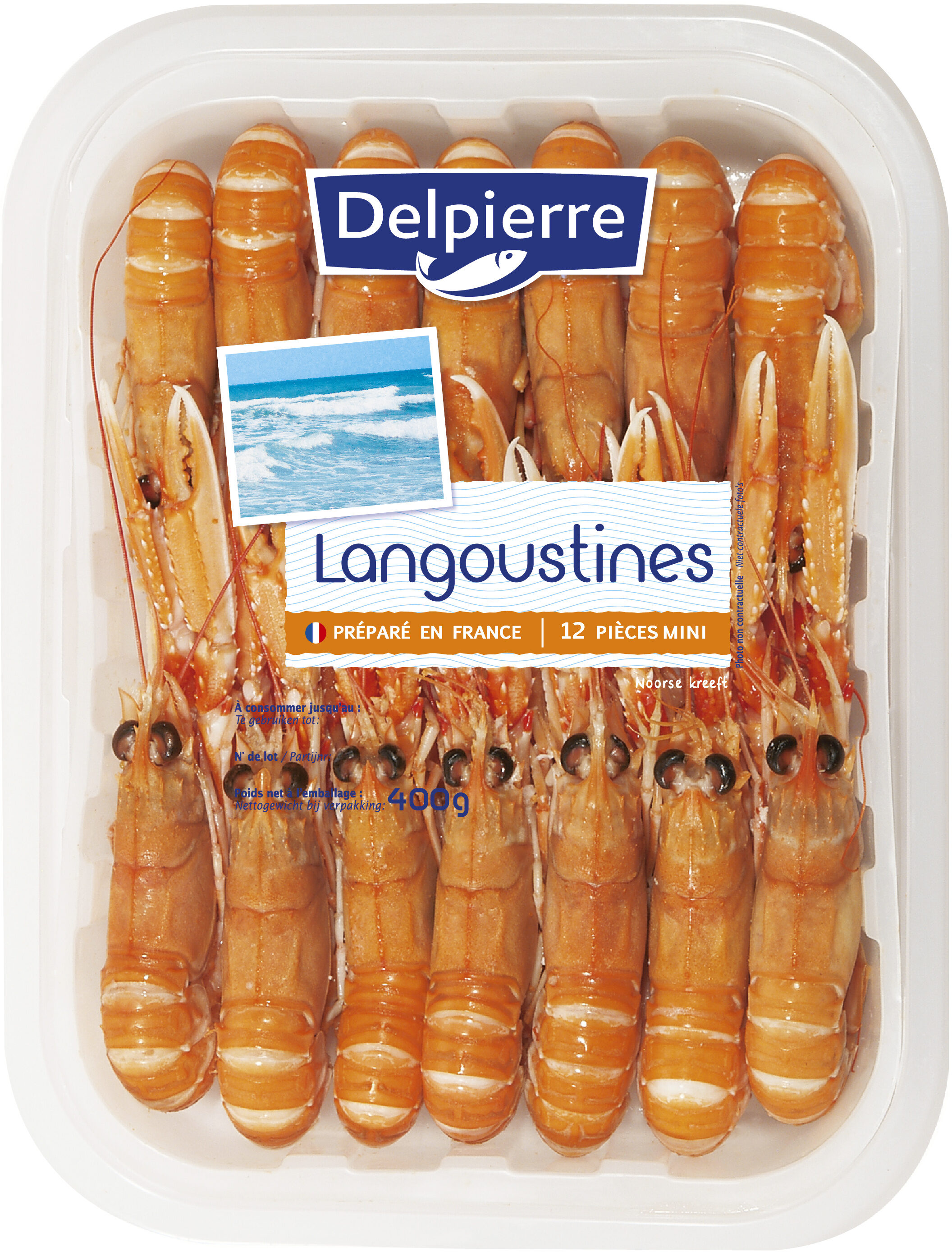 Langoustines 400g - Product - fr