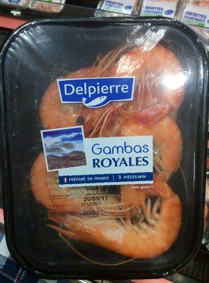 Gambas royales - Produit