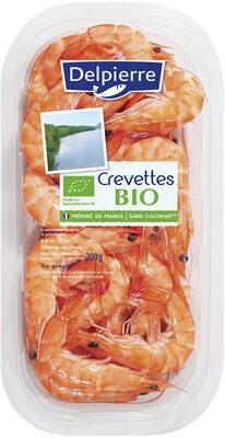 Crevettes Bio Delpierre - Product - fr