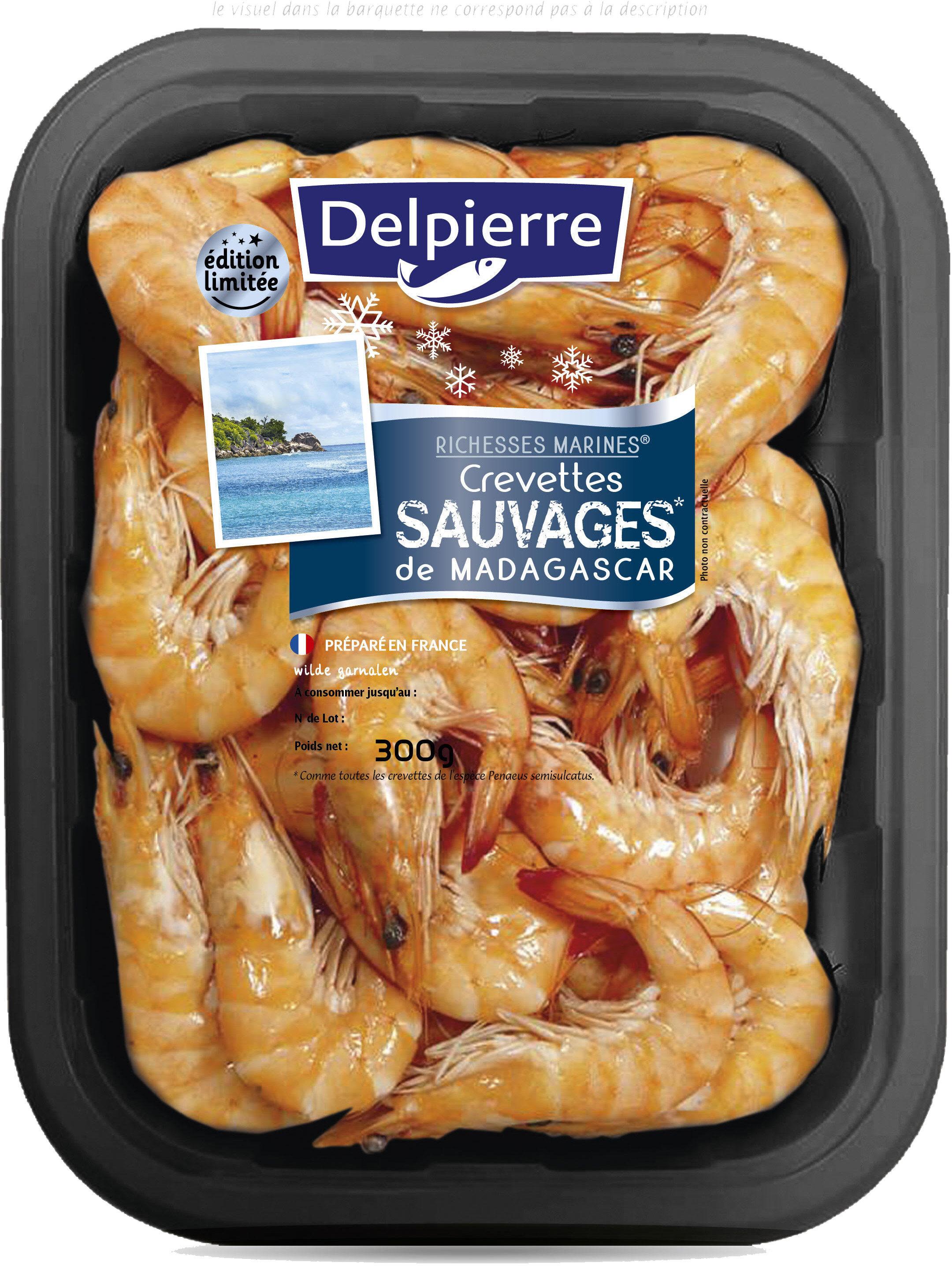 Crevettes sauvages Madagascar - Produit