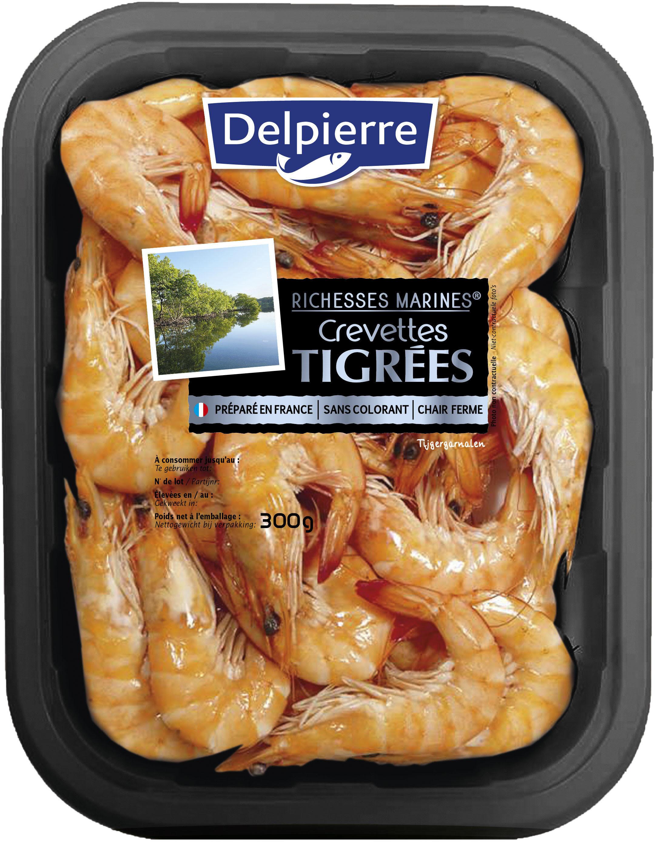 crevettes tigrées - Product - fr
