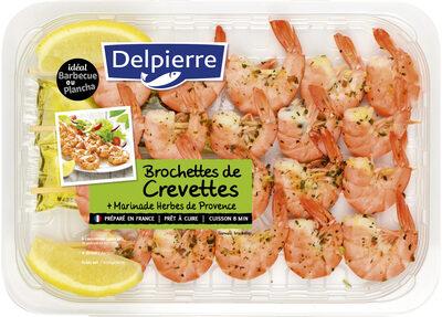 Brochette de crevettes+ Marinade Herbes de Provence - Product - fr