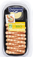 Crevettes sauce mayonnaise BIO - Product - fr