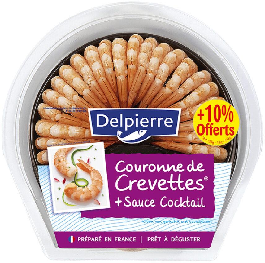 Couronne de crevettes sauce cocktail+ 10% Offert - Product - fr
