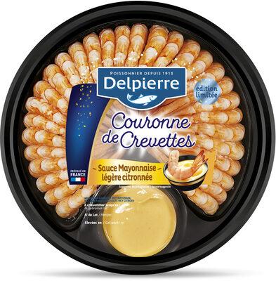 Couronne de crevettes sauce mayonnaise légère citronnée - Product - fr