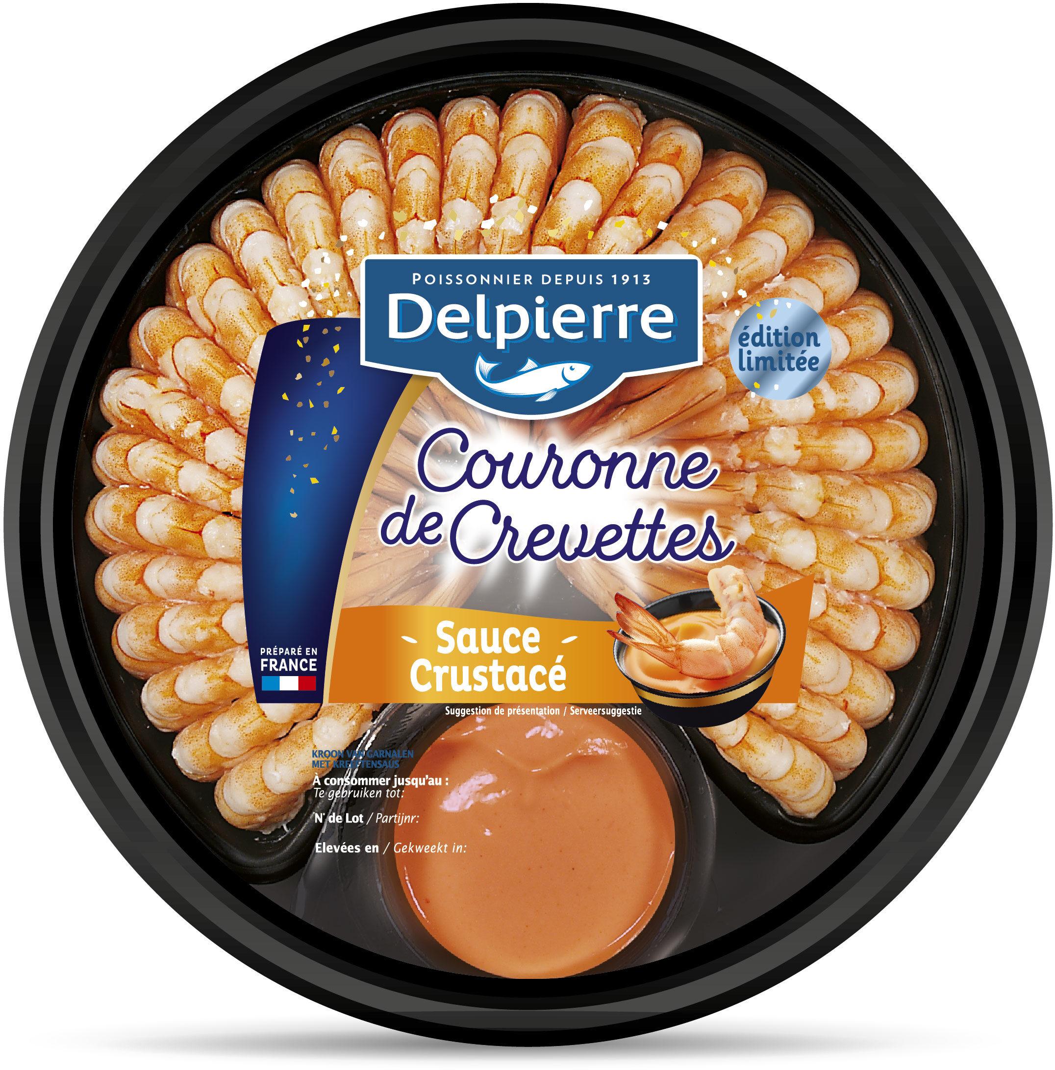 Couronne de crevettes sauce crustacés - Product - fr