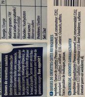 Queues de Crevettes - Ingrediënten - fr