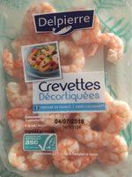 Crevettes décortiquées - Produit