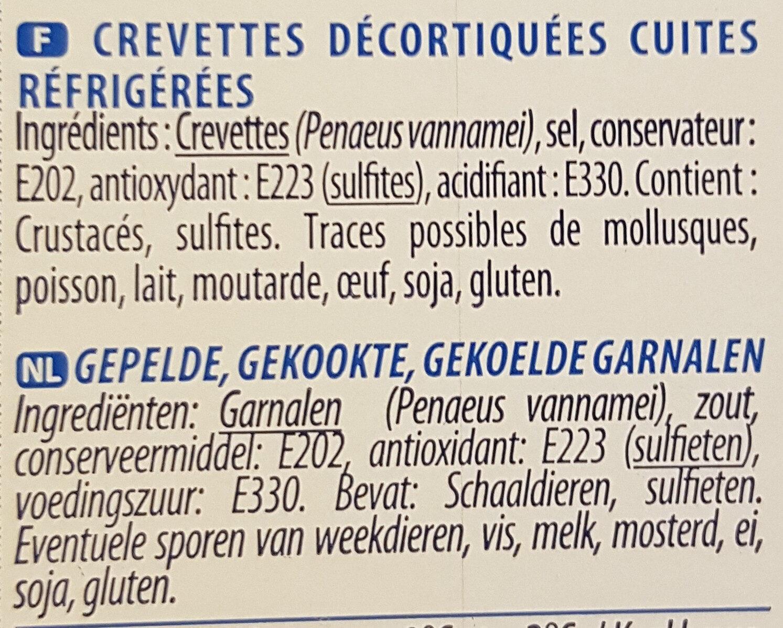 Crevettes cocktail - Ingrediënten - fr