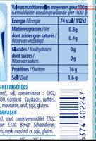 Crevettes décortiquées nature - Voedingswaarden - fr