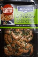 Queues de crevettes marinées ail & persil - Product - fr