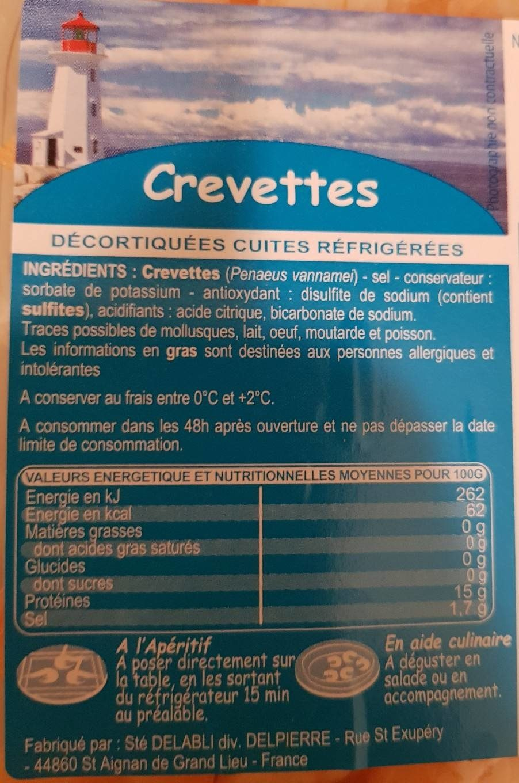 Crevette - Product - fr