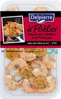 Queues de crevettes à la provençale - à poêler - Product - fr
