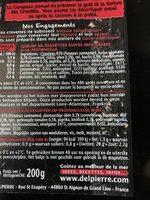 Queues de crevettes à la provençale - à poêler - Ingredients - fr