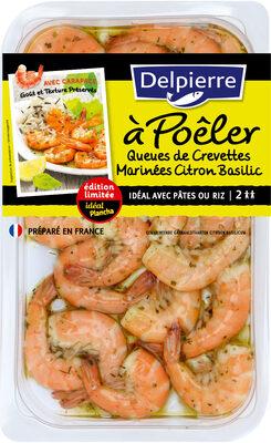 Queues de Crevettes Marinées Citron Basilic - Product - fr