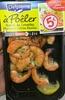 Queues de Crevettes Marinées Citron Basilic - Produit