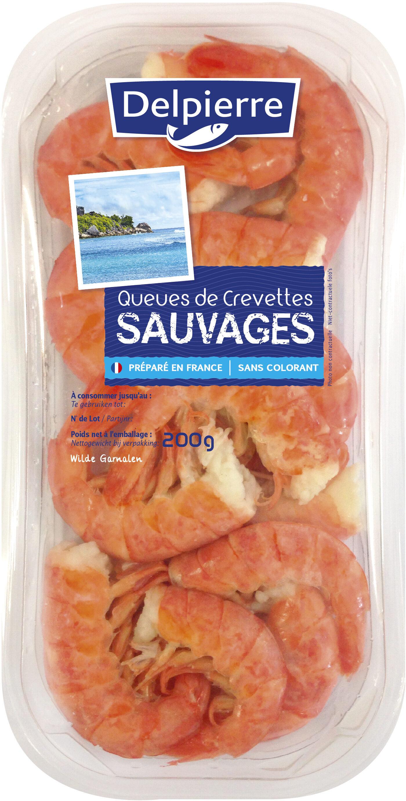 Queues de Crevettes Sauvages - Product