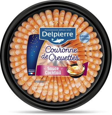 Couronne de crevettes sauce cocktail - 220g - Product - fr