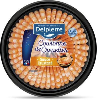 Couronne de crevettes sauce crustacé 220 g - Product - fr
