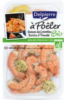 Queues de crevettes Bio basilic & tomate - a poêler - Product - fr
